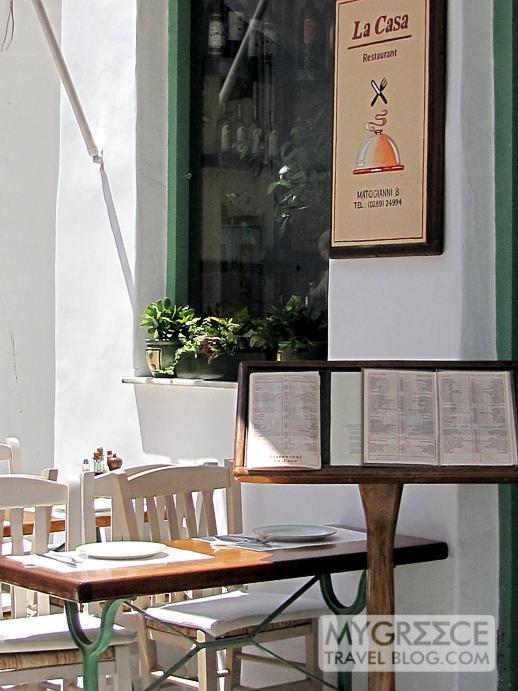 La Casa restaurant in Mykonos Town