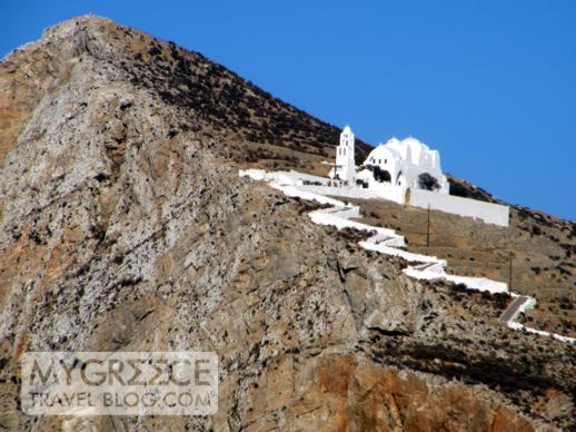 The Church of Panaghia on Folegandros
