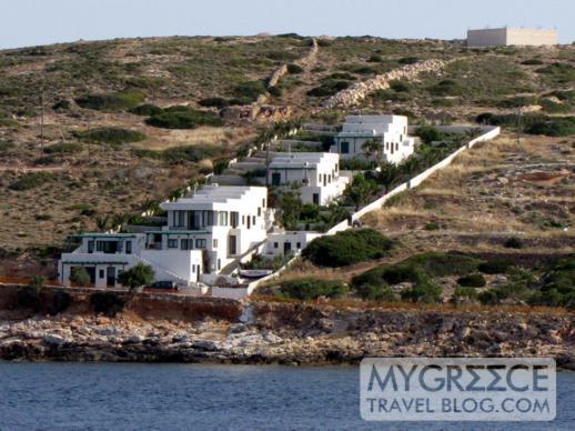 houses on Donoussa island