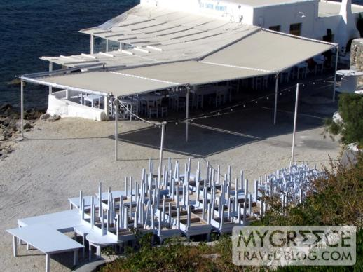 Sea Satin Market in Mykonos