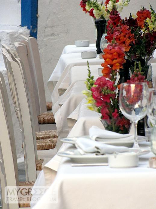 Katrin restaurant in Mykonos Town