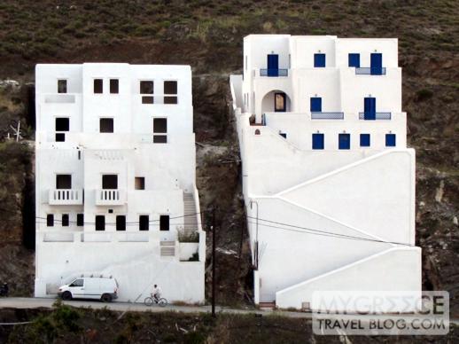 two buildings on Astipalea island