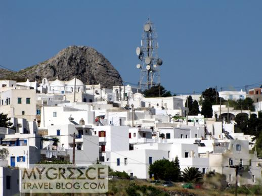 Chora village on Amorgos