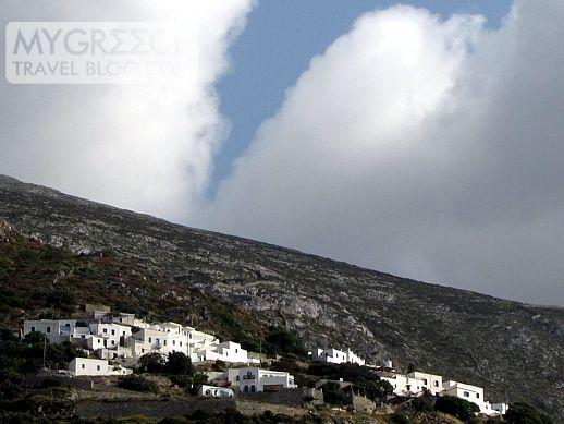 Potamos village on Patmos