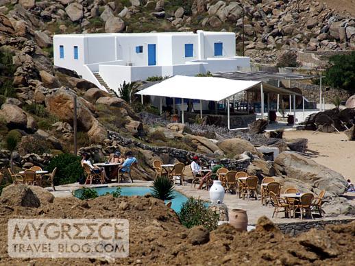Coco beach club Super Paradise beach Mykonos