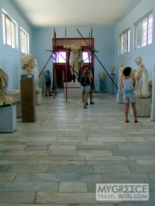 Delos archaeological museum