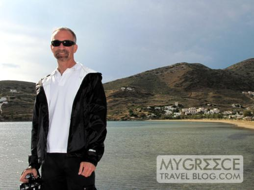 Donny B at Gialos beach Ios
