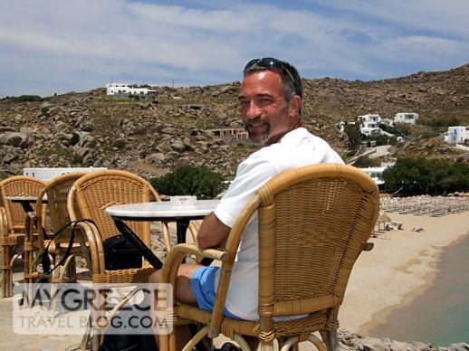 Donny at Super Paradise Mykonos