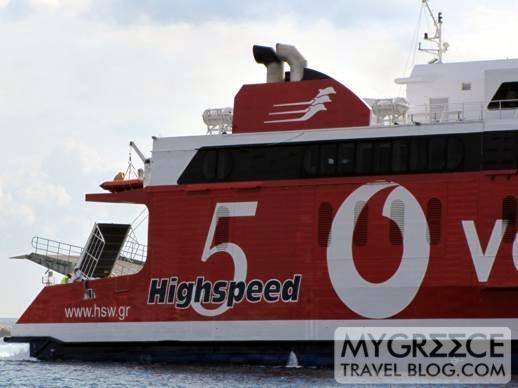 Hellenic Seaways Highspeed 5 ferry