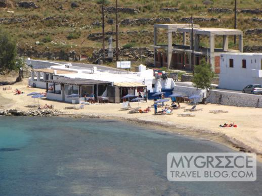 Joanna's Niko's Place at Megali Ammos beach Mykonos