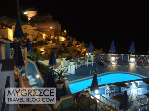 Kafieris Apartments Firostefani swimming pool