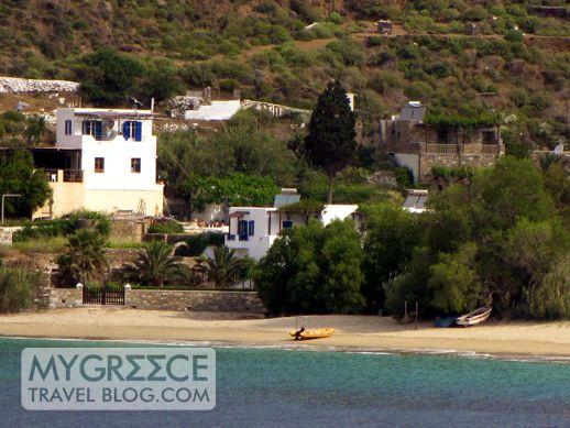 Levrosos beach on Amorgos