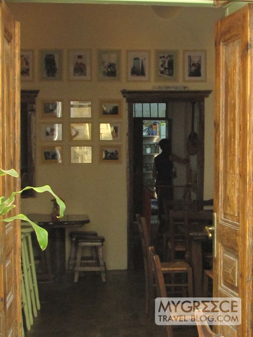 Interior of Maerion (To Ma'ereio) taverna in Mykonos