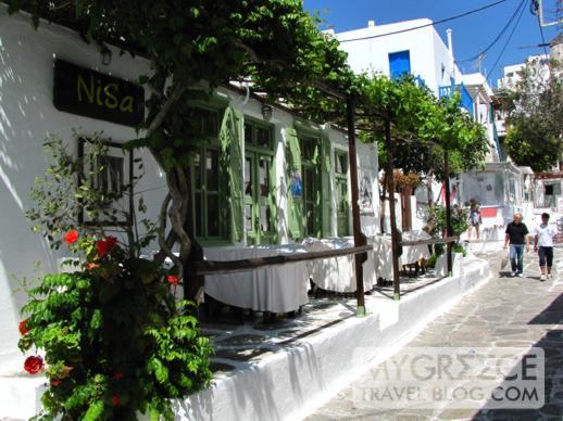 NiSa restaurant Mykonos