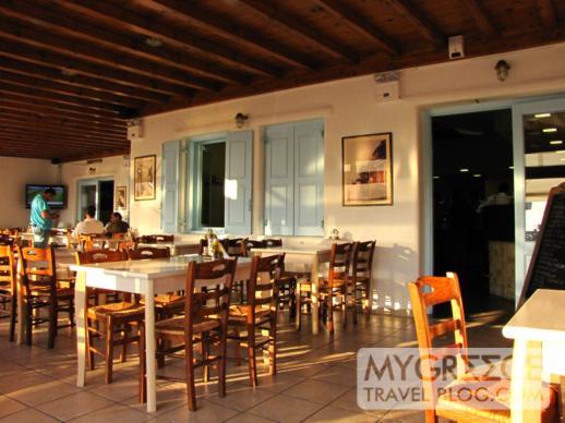 Oregano Cook & Grill taverna on Mykonos
