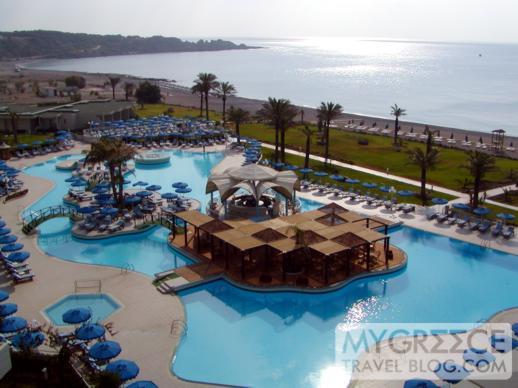Rodos Palladium swimming pool