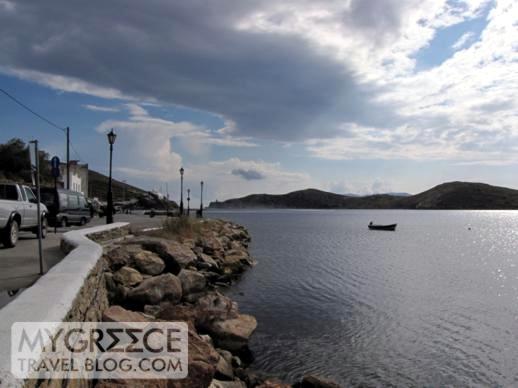 Gialos port on Ios