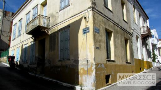 a house in Vathi on Samos