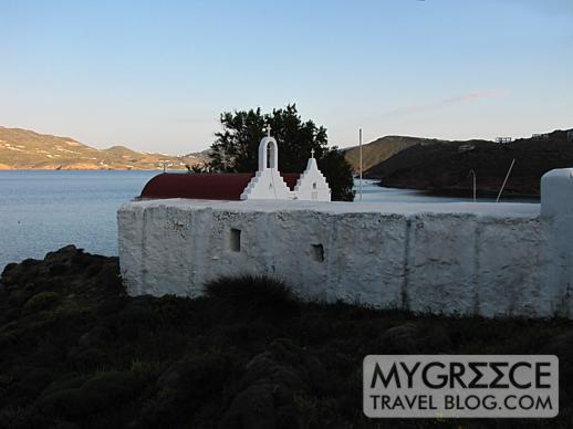 churches at Agios Sostis Mykonos