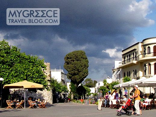 A square in Kos Town