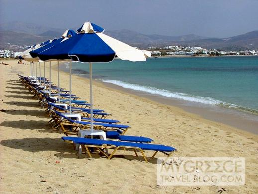 Agios Prokopios beach on Naxos
