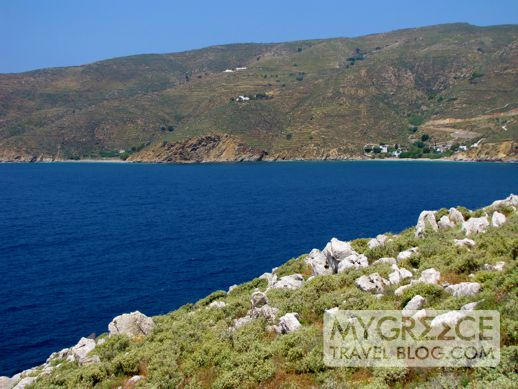 Egali Bay on Amorgos