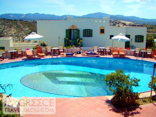 Naxos Beach II hotel swimming pool