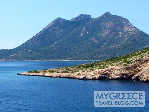 Nikouria Island near Amorgos