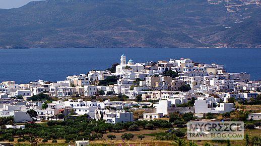 Adamas port town on Milos