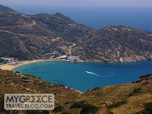 Mylopotas beach on Ios