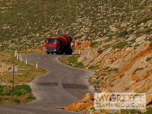 Amorgos highway