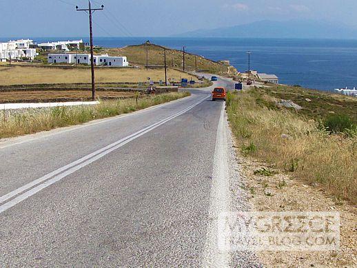 Mykonos highway