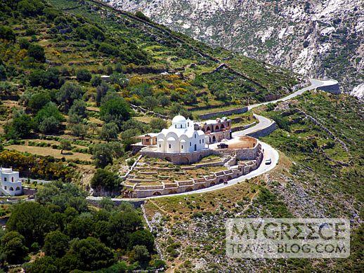 Naxos highway
