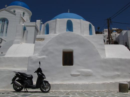 Church of Agia Ekaterini in Chora on Ios