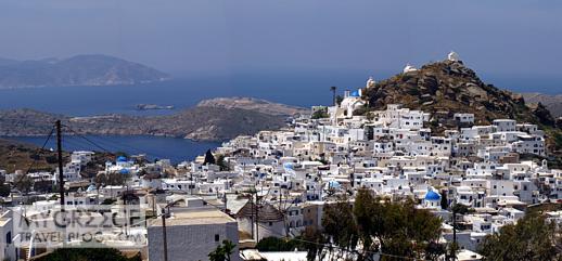 Chora village on Ios