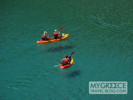 seak kayaking in Ios Greece