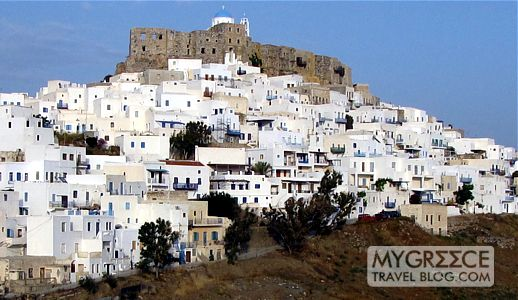 Chora village on Astipalea island  MY GREECE TRAVEL BLOG