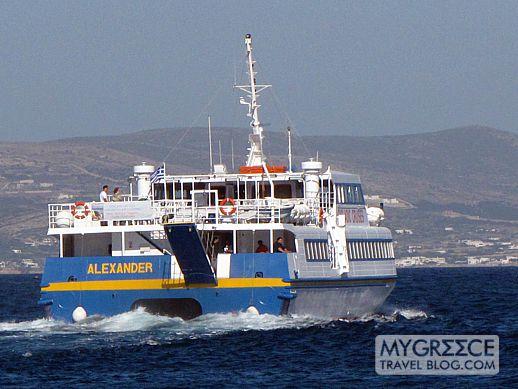 Alexander excursion boat