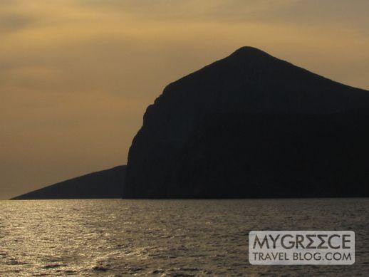 Sunrise at Amorgos Greece