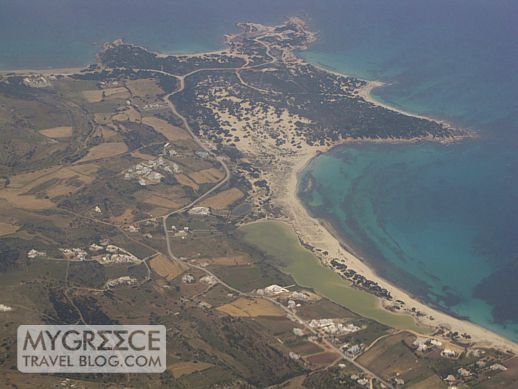 Cape Agali on Naxos