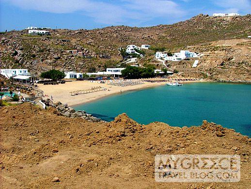 Super Paradise beach on Mykonos