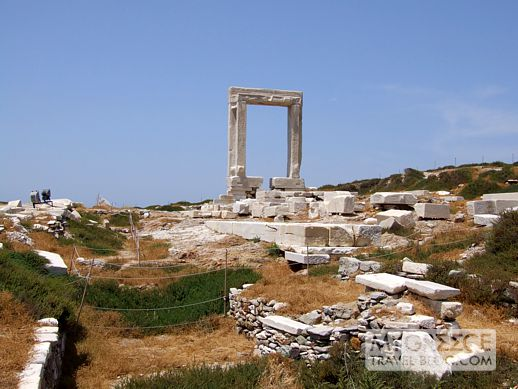 The Portara monument on Naxos