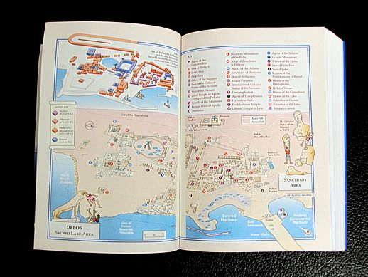 Greek Island Hopping Delos map and guide