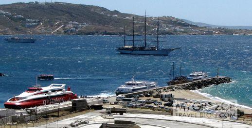 Flyingcat4 at Mykonos Old Port