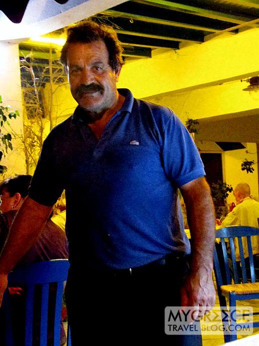 Fotis from Fotis Taverna at Agios Prokopios Naxos
