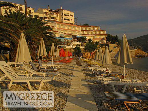 Gagou beach on Samos