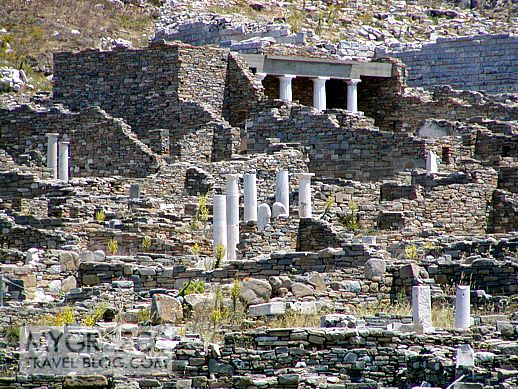 House of the Trident on Delos island