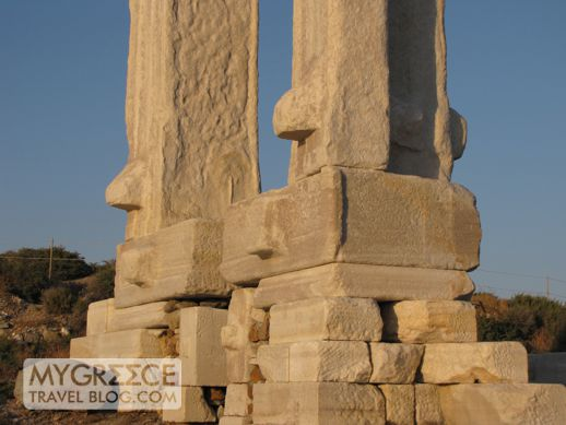 The base of the Portara monument on Naxos I