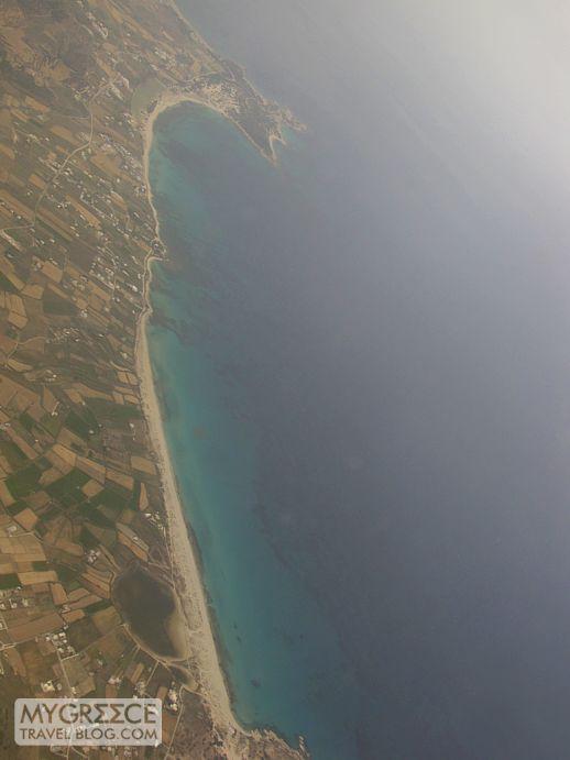Kastraki beach on Naxos