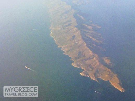 Makronisos Island in Greece